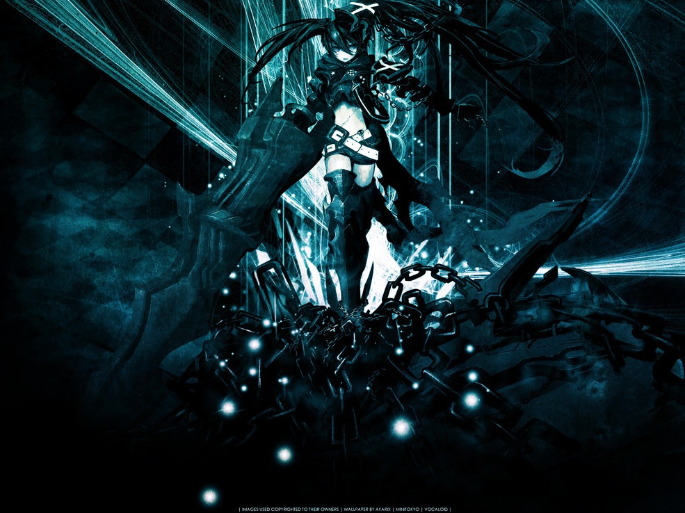 Animepaper Net Wallpaper Standard Anime Black Rock Shooter Consume