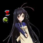 accel_world_kuroyukihime_cute_render_xd_by_mekdra-d53x7dr