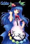 tenshi_hinanawi_render_by_kotekigo-d4bdgpz